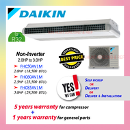 DAIKIN R32 CEILING EXPOSED CEILING MOUNTED NON-INVERTER C.E 2HP 2.0HP 2.5HP 3HP 3.0HP FHC50AV1M FHC60AV1M FHC85AV1M