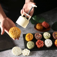 Mooncake Mold Hand Pressing Type Mung Bean Cake Household Purple Potato Yam Cake Embossed Mooncake Mold-Type Printing Tool Cold Cover Snack Grinding Tool