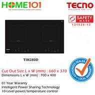 Tecno 2 Burners Induction Hob TIH-280D