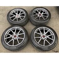 二手/中古/落地鋁圈輪胎 原廠 特斯拉 MODEL 3 18吋 5孔114.3 灰 含胎 米其林 235/45-18