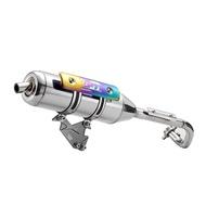 【OM銧榮】PGO ALPHA MAX 125 01C白鐵回壓排氣管/05C白鐵直通排氣管/加速管