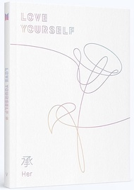 BTS - LOVE YOURSELF 承 [Her] [L Ver.] CD+Photobook+Photocard+L ver. Folded Poster+7 Members' Photocards