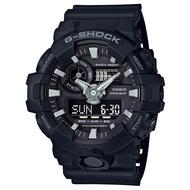 CASIO(卡西歐) G-SHOCK GA-700-1B(GA-700-1BDR) 雙顯 防水 男錶