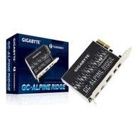 【子震科技】技嘉 GIGABYTE GC-ALPINE RIDGE  2.0 Thunderbolt™ 3擴充卡