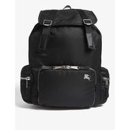 💯英國 Burberry 新款 The Rucksack backpack 大型 尼龍鋪棉皮革 後背包 黑色 預購