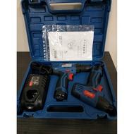 BOSS PL02-8,JZ10 起子機+電鑽 12V雙機組合