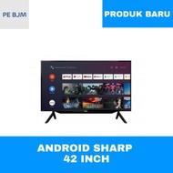 TV 42 INCH ANDROID SHARP - 2T-C42BG - GARANSI RESMI