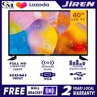 JIREN PRIME SERIES LED TV 40`Inch Ultra Slim panel HD Monitor
