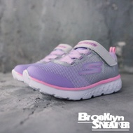 SKECHERS Go Run 400 Sp Arkle 灰粉紫 金蔥 魔鬼氈 童鞋 (布魯克林) 81354NGYLV