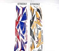 DASH110V1 DASH 110 V1 DASH110 V1 HONDA STICKER BODY COVER SET DOTOMOMO
