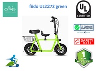 Fiido Q1 UL2272 seated electric scooter