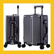 กระเป๋าเดินทางอลูมิเนียมแข็งแรง ทนทาน กันน้ำรุ่นใหม่ ล่าสุด แฟชั่น ถูกที่สุด28นิ้วNew909 กระเป๋าเดินทาง กระเป๋า เดินทาง 20 นิ้ว ผ้า คลุม กระเป๋า เดินทาง กระเป๋า เดินทาง 24 นิ้ว กระเป๋า ลาก กระเป๋า เดินทาง ยี่ห้อ ไหน ดี กระเป๋า เดินทาง 28 นิ้ว กระเป๋า เดิน