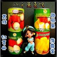 現貨 泰國 水果罐 紅毛丹 龍鳳果 波羅蜜 荔枝 水果罐頭