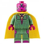 LEGO 76032 Marvel ซูเปอร์ฮีโร่เวนเจอร์ส Vision Minifigure ใหม่