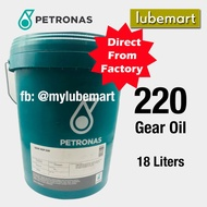 Petronas Gear MEP 220 (18 liters) - EP Gear Oil for Industrial Gearbox Usage