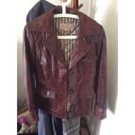 Marlboro classics 皮衣
