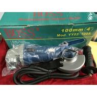 BOSS 研磨切割砂輪機 切割機 切斷機 研磨機 YY03-100A