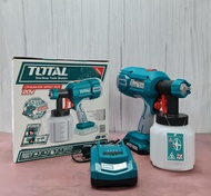 Total Lithium Ion Cordless Sprayer Spray Gun 20V 800ml (TSGLI2001) Included 1 Battery and 1 Charger
