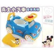 麗嬰兒童玩具館~幼兒學習座椅訓練便器-賓士小汽車音樂馬桶.超酷可當滑行車.