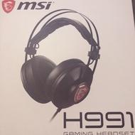 全新MSI電競耳機 H991