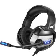 ฟรีเรือที่ดีที่สุดชุดหูฟังเล่นเกมหูฟังสำหรับเล่นเกมสำหรับคอมพิวเตอร์ PS4 พร้อมไมโครโฟน BK