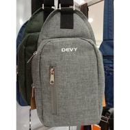 PAE กระเป๋าสะพายข้าง  DEVY สีเทาเป้สะพายข้างชายกระเป๋าสะพายข้างชาย