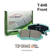 TOPBRAKE 現代 ELANTRA/KIA CARENS 汽車前碟煞車來令片-指定保養廠免安裝費