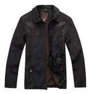 Timberland 全羊皮防舊飛行皮衣夾克-TBOJ3021
