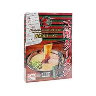 日本 一蘭拉麵 博多細麵(直條麵)129g x 5入【小三美日】◢D482086
