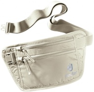 【Deuter 德國】Security Money Belt I 隱藏式錢包 旅行袋 藏錢腰包 證件袋 隨身袋 卡其色 (3910216)