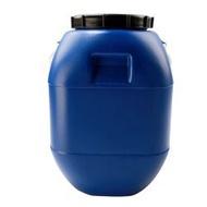 熱銷#加厚50L塑膠桶帶蓋食品級方桶50kg藍色化工桶泔水桶100斤儲水862