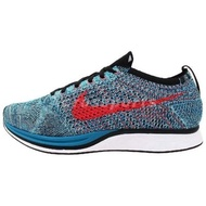 NIKE Flyknit Racer  Turquoise Glacier Ice Multicolor湖水藍
