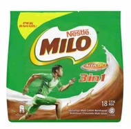 Milo Nestle Active-Go 3 in 1 Chocolate Malt Drink