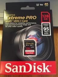 SanDisk Extreme Pro SDXC V30 U3 64G/GB 95Mb SD 記憶卡 128G