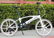 Hito 22 Inch foldable bike and Special Wheels (High Quality Aluminium) - Design Germany (Authorised Hito Distributor)