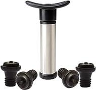 JUSTDOLIFE Wine Saver Set Professional Creative Wine Pump Vacuum Stopper for Bottle