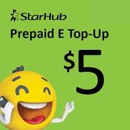 Starhub Prepaid eTopUp SGD5