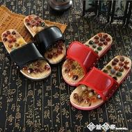鵝卵石按摩穴位保健腳底按摩鞋夏季男女家居養身石頭居家涼拖鞋 西城故事618購物節