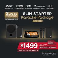[SG] Powerhouse Touchscreen Home Karaoke Box + Starter Karaoke System Set