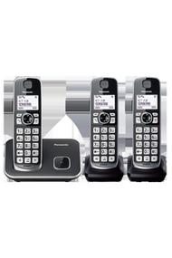【夜殺】國際牌Panasonic DECT中文顯示輸入數位無線電話 3手機組 KX-TGE613TW