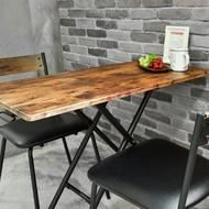 日式茶几桌/升降桌/餐桌/工作桌/仿古木色 Lift Table MIT台灣製【Tasteful 特斯屋】