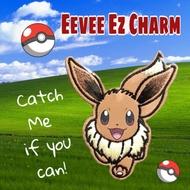 2.2 Sale ☄Eevee Pokemon Ezlink Charm💝Free Charm protector cover💝