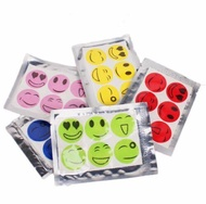 60Pcs Smiley Face Anti-mosquito Stickers Cartoon Mosquito Repellent Stickers Mosquito Repellent Buckle Anti-mosquito Stickers Outdoor Anti Mosquito Repel Patch Stick with Smile Face for Baby Kids Adults / Ringgit Deals Online