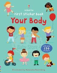Usborne First sticker books Your body