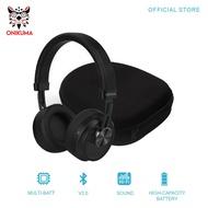 ONIKUMA B10 HD Stereo Music Headset Headphones with Built-in Microphone Bluetooth Wireless Headset