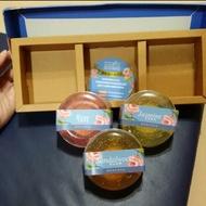 台鹽膠原蛋白黃金皂禮盒三入