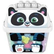 費雪 美高動物造型大大積木桶-熊貓