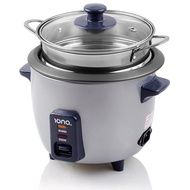 Iona GLRC061 0.6L Rice Cooker & Warmer with Steamer