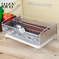 304不銹鋼筷子盒家用筷子筒瀝水筷籠子勺消毒櫃壁掛式收納置物架