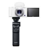 限量贈電池+32G高速卡+清潔組 SONY DSC-ZV1 ZV-1 輕影音手持握把組合 數位相機 公司貨 白色編輯